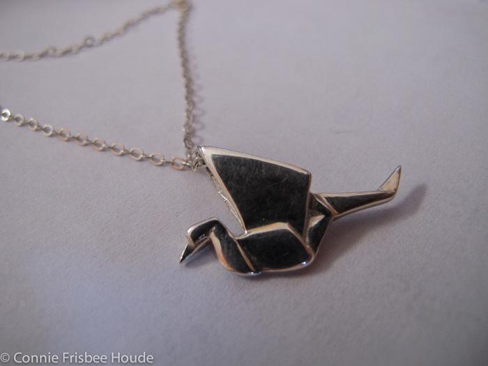 Peace Crane Pendant